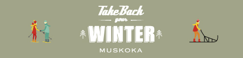 "Muskoka microsite ""Take Back Winter!"""